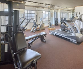 Fitness Weight Room, Vista Del Ray