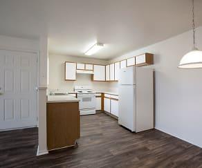 Kitchen, Aspen Ridge Apartments