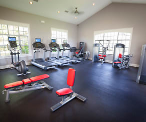 Fitness Weight Room, Chandler Park Apartments