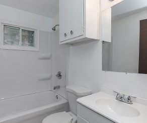 Bathroom, Downtown Town Homes