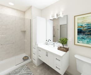 Bathroom, The Residences at The Promenade at Upper Dublin
