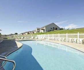 Pool, Park Creek Apartments