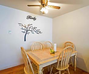 Dining Room, Kenosha Apartments