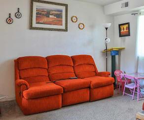 Living Room, Mira Mar Apartments