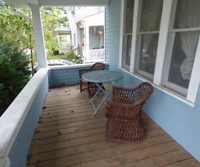 Patio / Deck, 145 Clinton Street