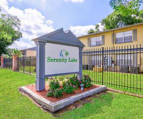 Community Signage, Serenity Lake