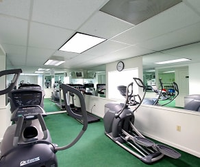 Fitness Weight Room, Shenandoah Station in the Park