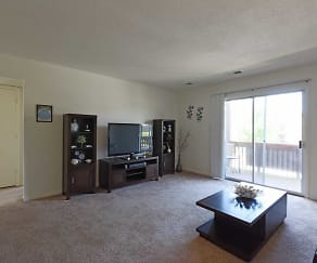 Living Room, Lincolnshire West Apartments