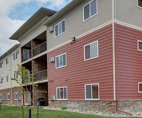 Building, Urban Plains Apartments