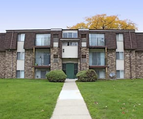 Building, The Glens Apartments