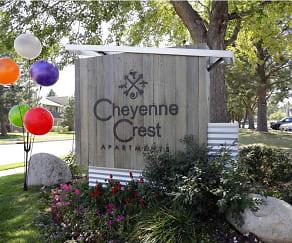 Community Signage, Cheyenne Crest