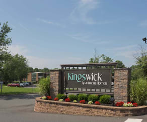 Community Signage, Kingswick Apartments
