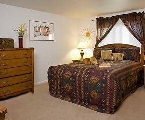 Bedroom, Woodhill Apartments