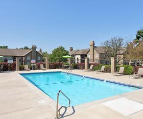 Pool, Deerfield Apartments
