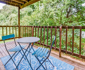 Patio / Deck, Peppertree Apartments