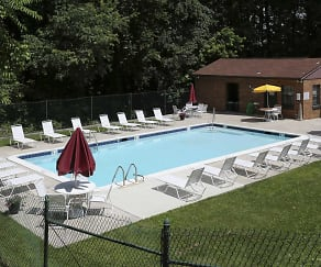 Pool, Ivy Hall at Kenilworth Apartments