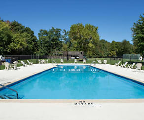 Pool, Village Crest Apartments