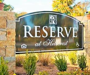 Community Signage, Reserve at Hillcrest