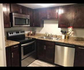 Kitchen, The Rialto Apartments