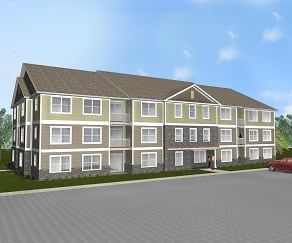 Rendering, The Reserve at Parkland