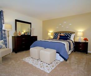 Bedroom, Aspen Apartments