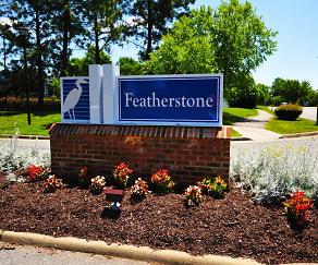 Exterior-Community Signage, Featherstone