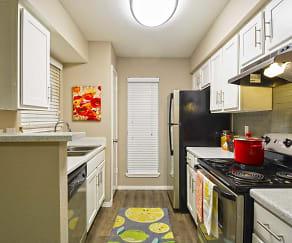 Kitchen, Hillside Villas