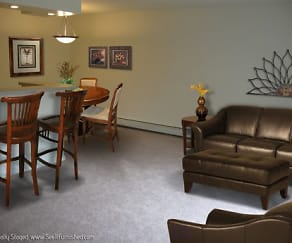 Dining Room, Castle Club Apartments