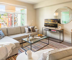 Living Room, Chelsea At Juanita Village