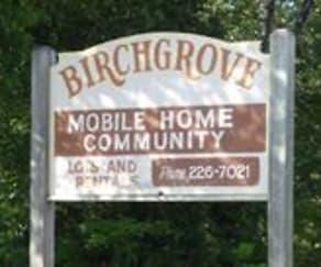 Community Signage, Birch Grove MHC