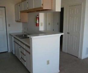 Kitchen, Park Crest Terrace Apartments