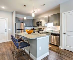 Kitchen, Flats at 540