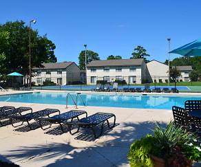 Pool, Spanish Mission Apartment Homes