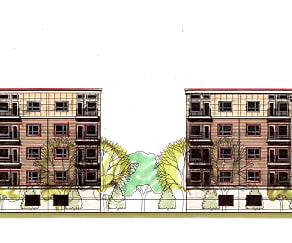 Recreation Area, Cornell Street Apartments