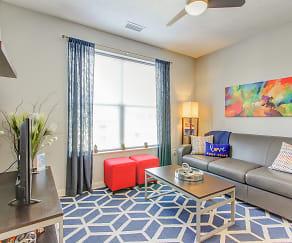 Living Room, 345 Flats