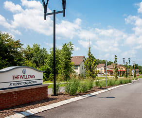 Community Signage, The Willows At Flemington Junction