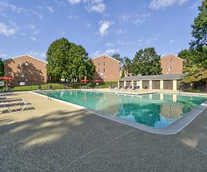 Pool, York Hills Apartments