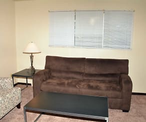 Living Room, Pineview Apartments