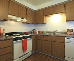 Kitchen, Sunrise Vista Apartments