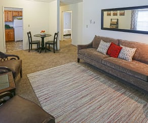 Living Room, SnyderPark Village Apartments