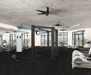 Fitness Weight Room, 511 Meeting Street