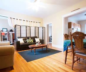 Living Room, 1576 Oak