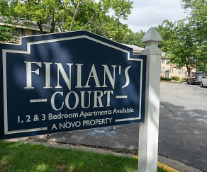 Community Signage, Finian's Court