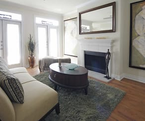 Living Room, The Crescent at River Ranch