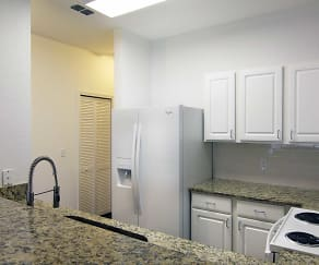 Kitchen, Surfside Apartments