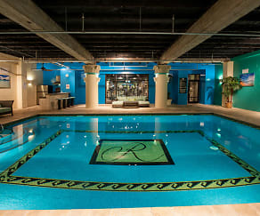 Pool, The Rice Luxury Apartments
