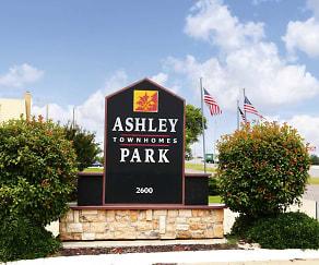 Community Signage, Ashley Park