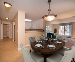 Dining Room, Cutters Grove Apartment Homes