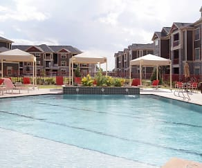 Pool, Faudree Ranch Apartments