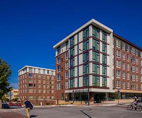 Building, District Flats Apartments